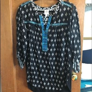 Anthropologie tunic size L